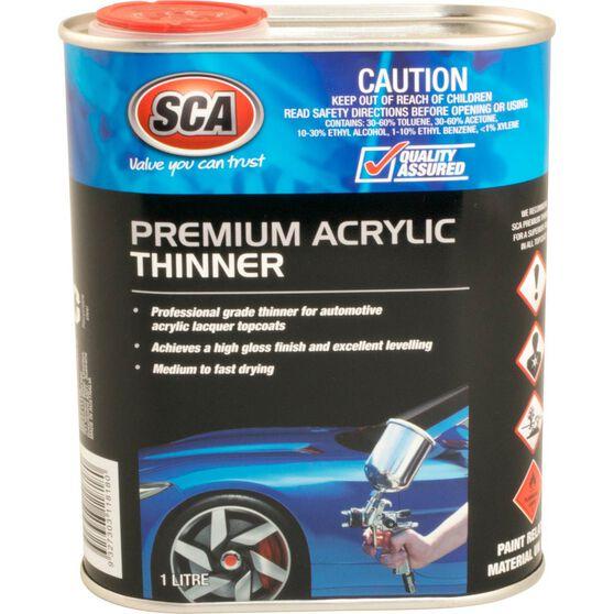 SCA Premium Acrylic  Thinner - 1 Litre, , scaau_hi-res
