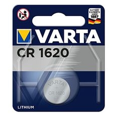 Varta Lithium Coin Battery - CR1620, 1 Pack, , scaau_hi-res