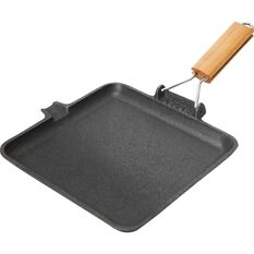 Cast Iron Frying Pan - Square, , scaau_hi-res