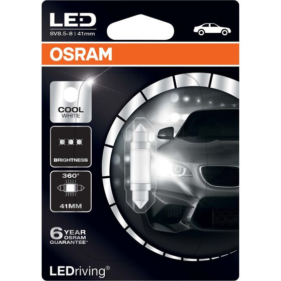 Osram Interior Globe LED - 12V, 41mm, Cool White, , scaau_hi-res