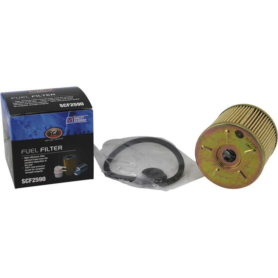 SCA Fuel Filter SCF2590 (Interchangeable with R2590P), , scaau_hi-res