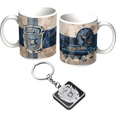 Ford Mug and Keyring Pack - Heritage Grill, , scaau_hi-res