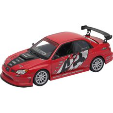 Welly Diecast Model APR Subaru Impreza - 1:24 Scale Car, , scaau_hi-res