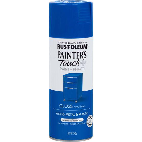 Rustoleum Aerosol Paint - Painters Touch Plus, Royal Blue, , scaau_hi-res
