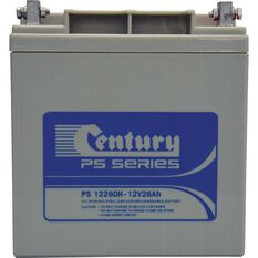 RECHARGEABLE BATTERY -  PS 12260H, 12V 26AH, , scaau_hi-res