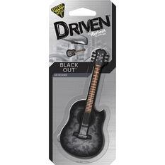 Driven Guitar Black Out Air Freshener, , scaau_hi-res