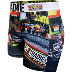 Tradie Mens Bathurst Raceday Trunks Raceday S, Raceday, scaau_hi-res