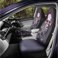 SCA Fashion Seat Cover - Skull, 60SAB, , scaau_hi-res
