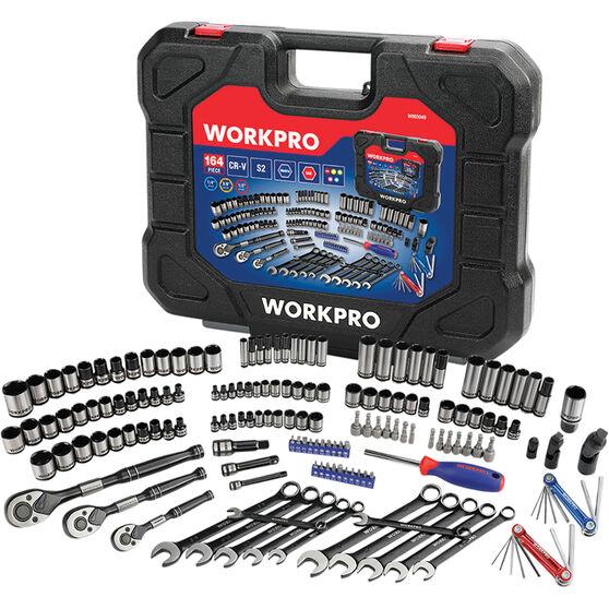 Workpro 164 Piece Tool Kit, , scaau_hi-res