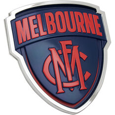 Melbourne AFL Supporter Logo - 3D Chrome Finish, , scaau_hi-res