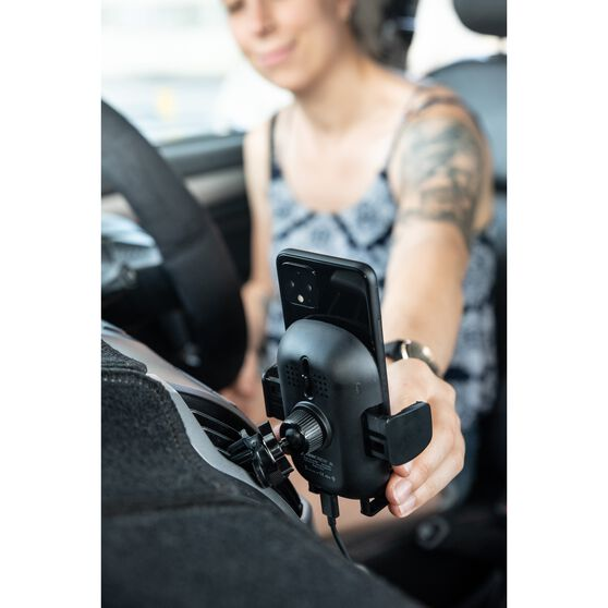 Cabin Crew Qi Certified Wirless Charging Expanding Phone Holder, , scaau_hi-res