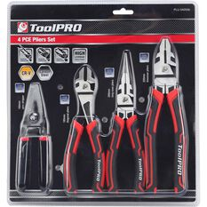 ToolPro Plier Set - 4 Pieces, , scaau_hi-res