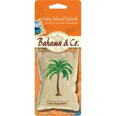 Bahama & Co Palm Tree Pouch Air Freshener  - Oahu Island Splash, , scaau_hi-res