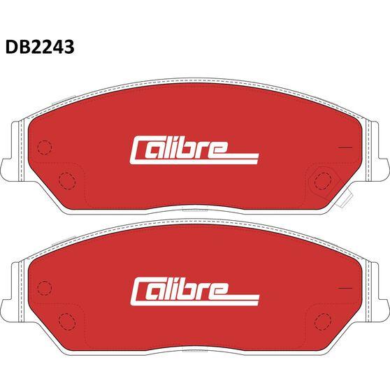 Calibre Disc Brake Pads DB2243CAL, , scaau_hi-res