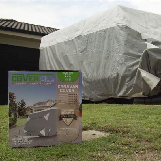 Caravan Cover - Gold Protection, Suits 20-22FT Caravan, , scaau_hi-res