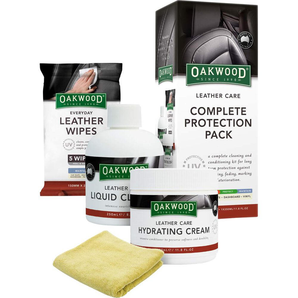9b325a87454 Oakwood Leather Care Complete Protection Pack   Supercheap Auto