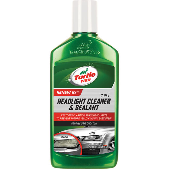Turtle Wax Headlight Cleaner  &  Sealant - 266mL, , scaau_hi-res