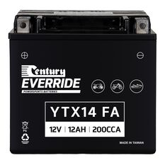 Century Powersports Small Engine Battery YTX14-BS FA, , scaau_hi-res