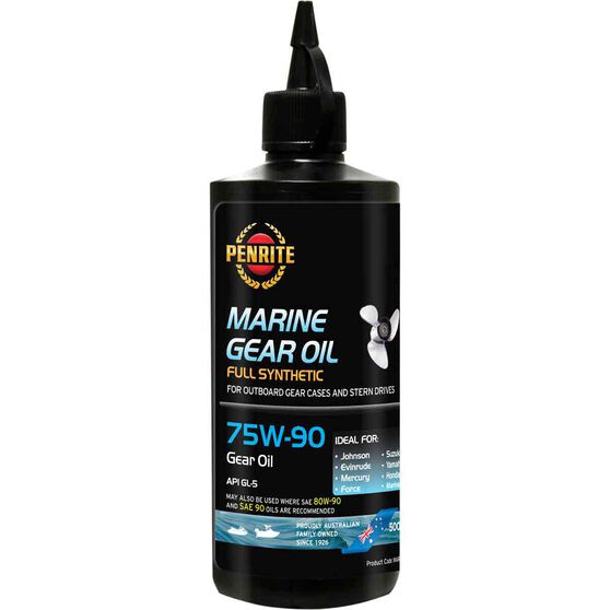 Penrite Marine Gear Oil 75W-90 500mL, , scaau_hi-res