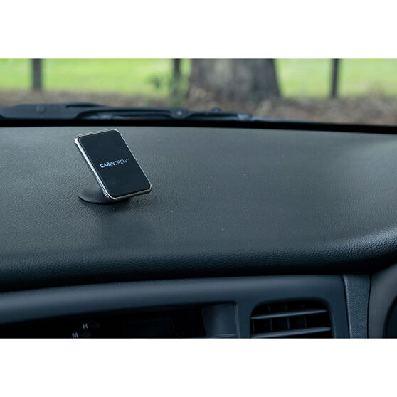 Cabin Crew Phone Holder - Sticker Mount, Magnetic, Black, , scaau_hi-res
