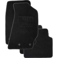 Tailor Made Custom Car Floor Mats - Suits Holden Commodore VY-VZ, Carpet, Black, Set of 4, , scaau_hi-res