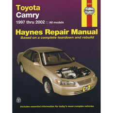 Haynes Car Manual For Toyota Camry 1997-2002 - 92707, , scaau_hi-res
