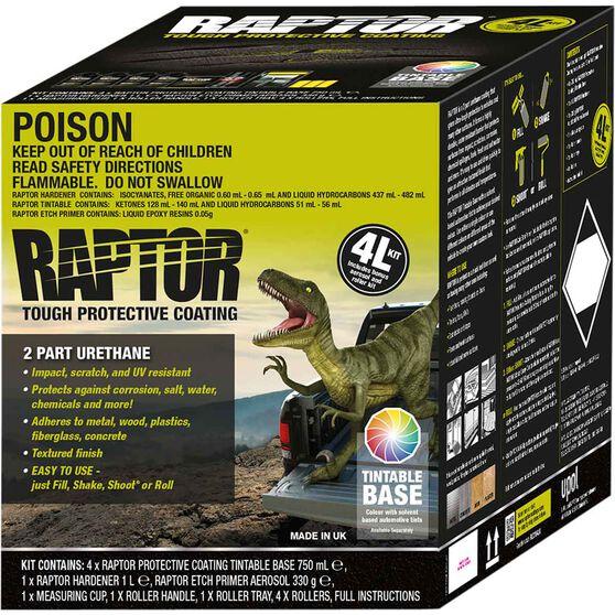 Raptor Bedliner 4L Tintable Kit