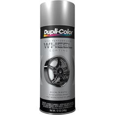 Dupli-Color Aerosol Paint - Wheel Coating, Silver, 340g, , scaau_hi-res