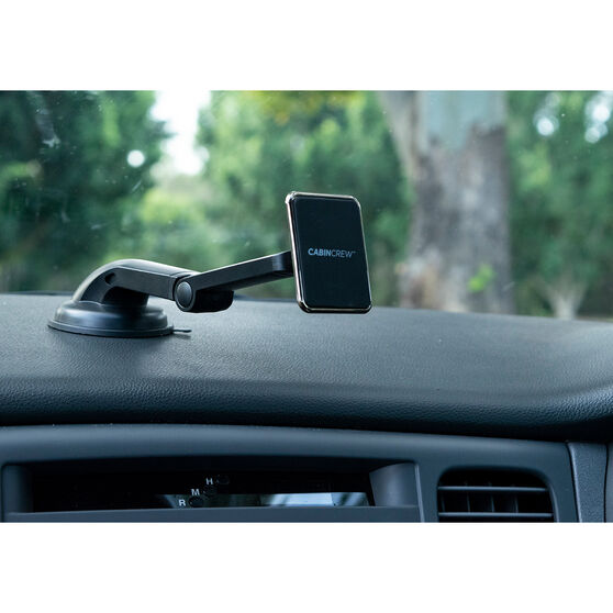 Cabin Crew Phone Holder - Suction Mount Magnetic Black, , scaau_hi-res