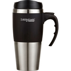 Thermos ThermoCafe 450mL Travel Mug Black, , scaau_hi-res