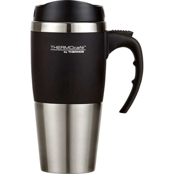 450mL Thermocafe Travel Mug Black, , scaau_hi-res