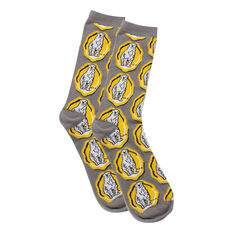 Bundaberg Rosette Pattern Socks, , scaau_hi-res