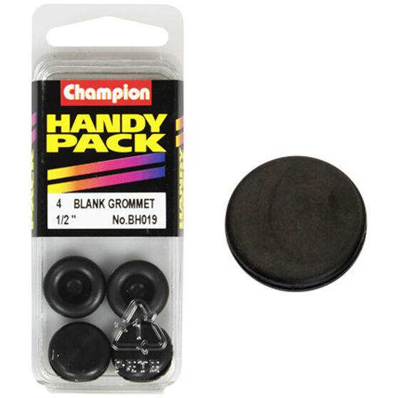 Champion Blanking Grommet - 1 / 2inch, BH019, Handy Pack, , scaau_hi-res