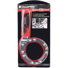 ToolPRO Adjustable Oil Filter Wrench, , scaau_hi-res