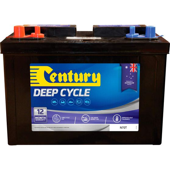 Century Deep Cycle Car Battery -  N70T, 100Ah, , scaau_hi-res