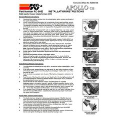K&N Apollo Cold Air Intake System - RC-5052AB, , scaau_hi-res