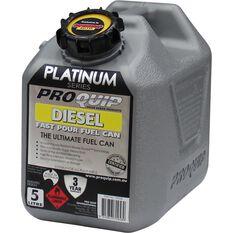 Pro Quip Platinum Diesel Jerry Can 5 Litre, , scaau_hi-res
