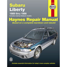 Haynes Car Manual For Subaru Liberty 1989-1998 - 89706, , scaau_hi-res