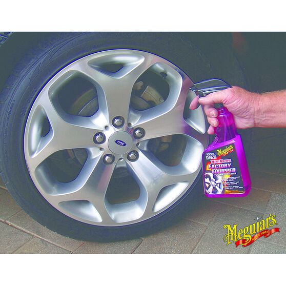 Meguiar's Factory Equipped Wheel & Tyre Cleaner - 709mL, , scaau_hi-res
