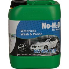 No-H2O Waterless Wash and Polish - 5 Litre, , scaau_hi-res