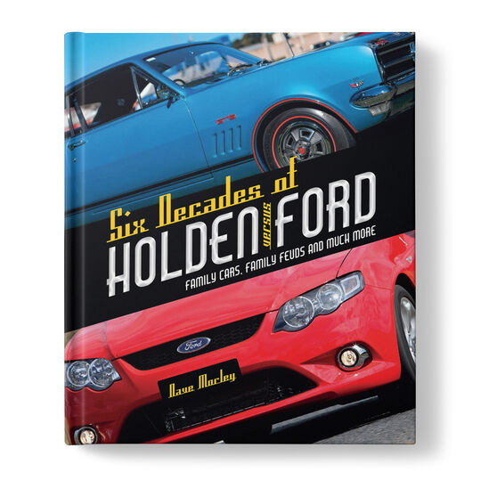 Book - Six Decades of Holden vs Ford, , scaau_hi-res