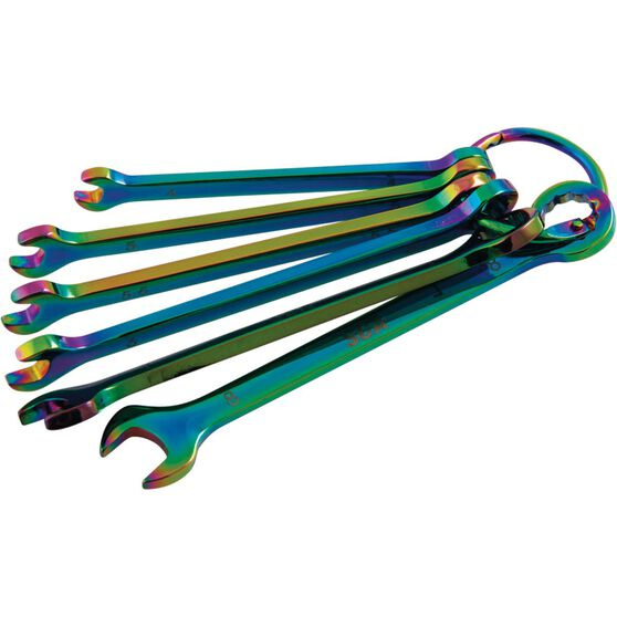 SCA Spanner Set - Combination, Chameleon, 6 Piece, Metric, , scaau_hi-res
