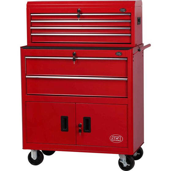 SCA Tool Cabinet Combo 6 Drawer 36 Inch, , scaau_hi-res