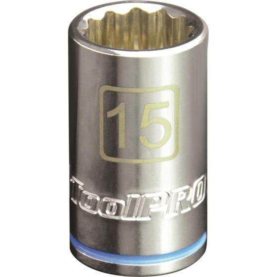 ToolPRO Single Socket - 1 / 2 inch Drive, 15mm, , scaau_hi-res
