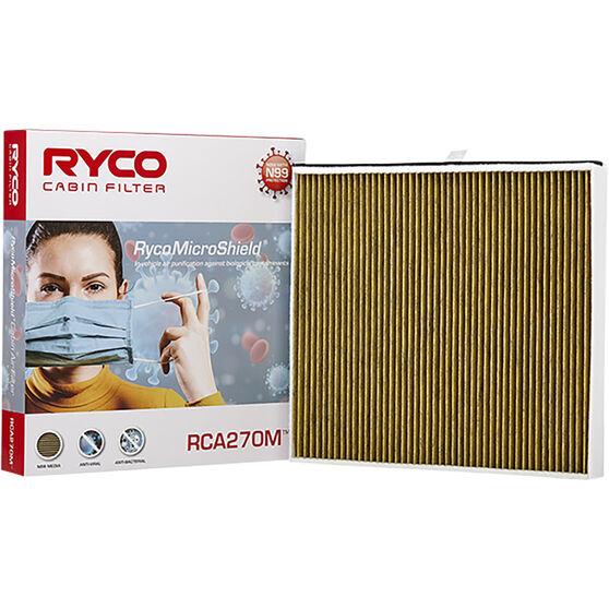 Ryco Cabin Air Filter N99 MicroShield RCA270M, , scaau_hi-res