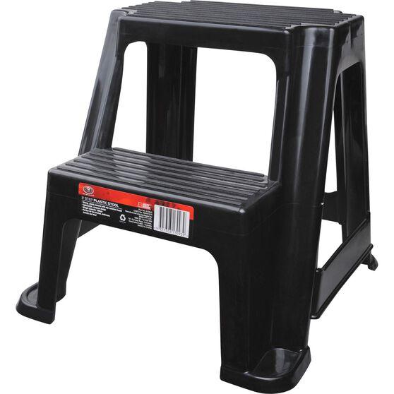 SCA Plastic 2 Step Stool - 100kg Capacity, , scaau_hi-res