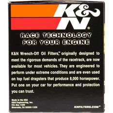 K&N Wrench Off Performance Gold Oil Filter  - HP-2004 (Interchangeable with Z89A), , scaau_hi-res