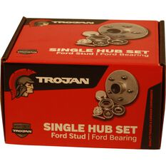 Trojan Trailer Hub Kit - Ford, 155mm, , scaau_hi-res