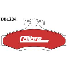 Calibre Disc Brake Pads DB1204CAL, , scaau_hi-res