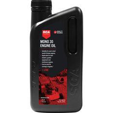 Supercheap Auto Mineral Small Engine Oil - 4 Stroke, 1 Litre, , scaau_hi-res